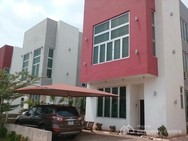 Luxury 4 Bedroom Height Duplex, Citiview Specialist Estate, Ikeja, Lagos, Detached Duplex for Rent