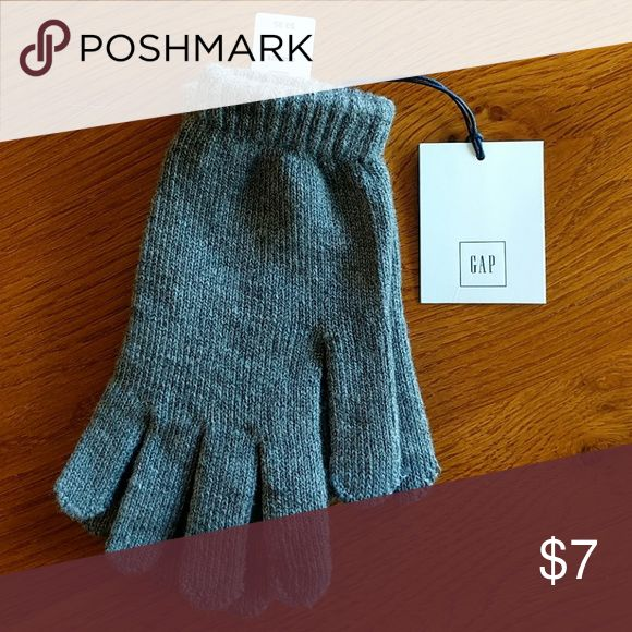 NWT GAP Smartphone Gloves Gray Works with touchscreen devices GAP Other
