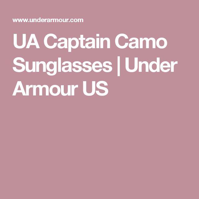 UA Captain Camo Sunglasses | Under Armour US
