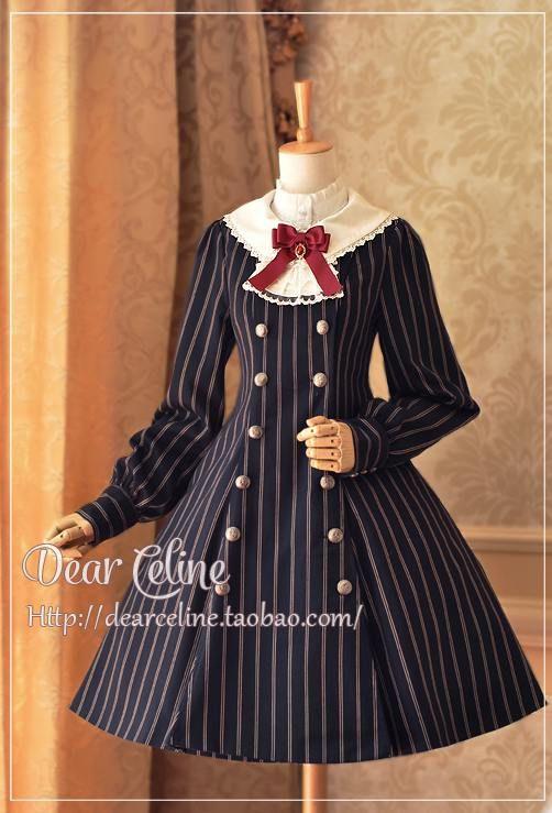 Dear Celine Autumn School Trench Coat