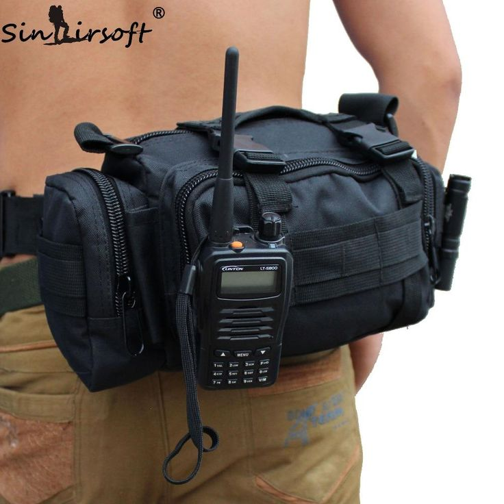 [Visit to Buy] SINAIRSOFT High Quality Outdoor Military Tactical Backpack Waist Pack Waist Bag Mochilas Molle Camping Hiking Pouch 3P Bag G#J6 #Advertisement