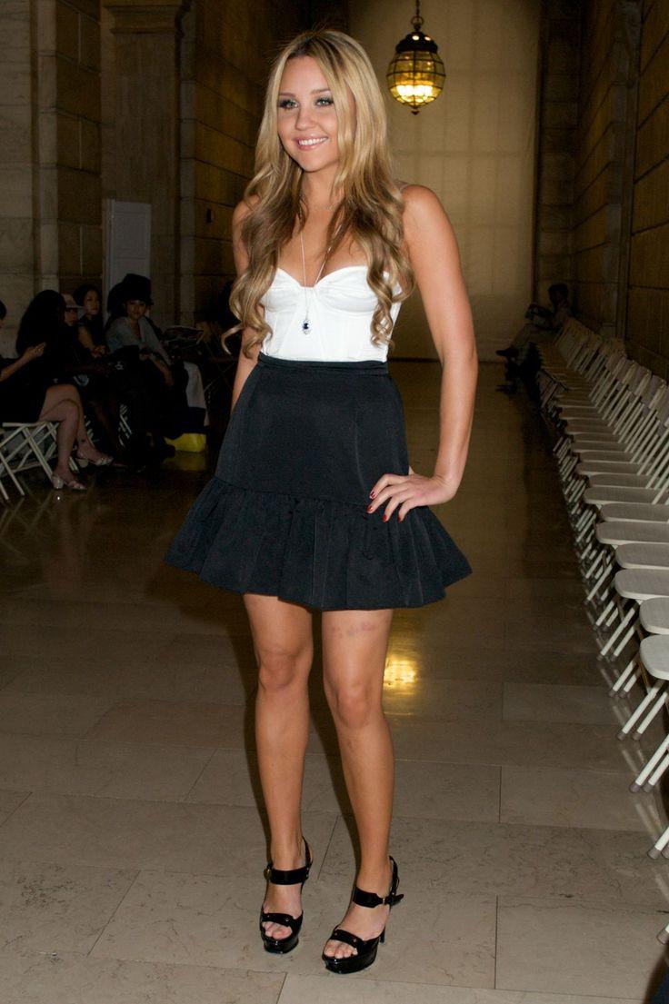 Black Skirt Amanda Bynes Looks Skirts Black