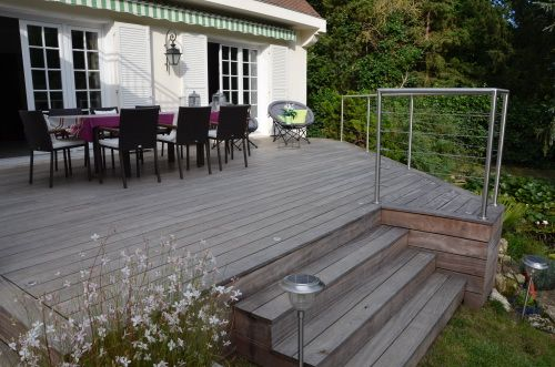 9 best terrasses images on Pinterest Wooden decks, Decks and Arbors