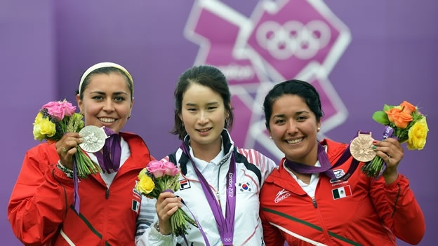 The Mexican archers Aida Roman and Mariana Avitia are the first to win Olympic medals in the art of archery