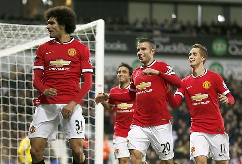 Marouane Fellaini | Manchester United FC #soccer #football #MUFC - Januzaj is in the back ground HOLLA!!