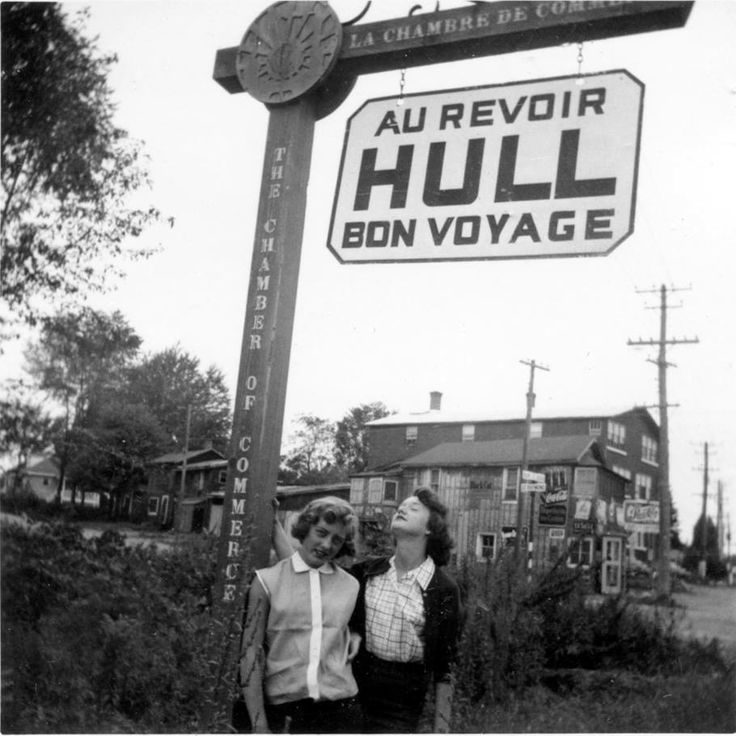 Two friends end their trip to Hull, at the corner of St. Joseph and Raymond in Hull.