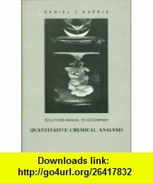 9 best torrent book images on pinterest solutions manual to accompany quantitative chemical analysis 9780716718840 daniel c harris isbn fandeluxe Image collections