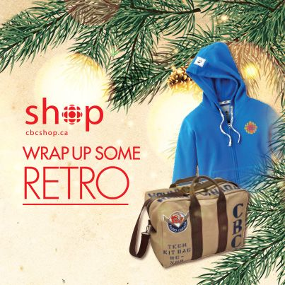 Bring home a big of CBC's past, with great gift ideas featuring branding from the first emblem in the '40s to the popular Burton Kramer logo from the '70s.