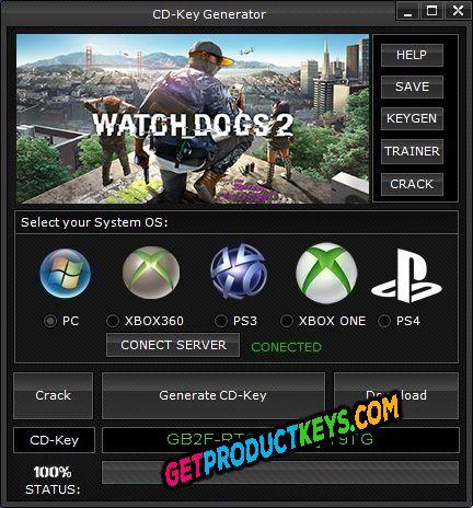 Watch Dogs 2 Free CD Key Generator