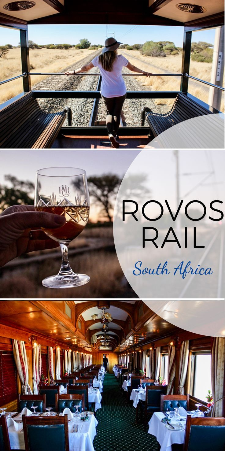 A trip through South Africa aboard the Rovos Rail - another check off the ol' travel bucket list!