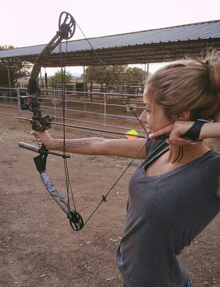 660 best images about girls n archery on pinterest for Compound bow fishing