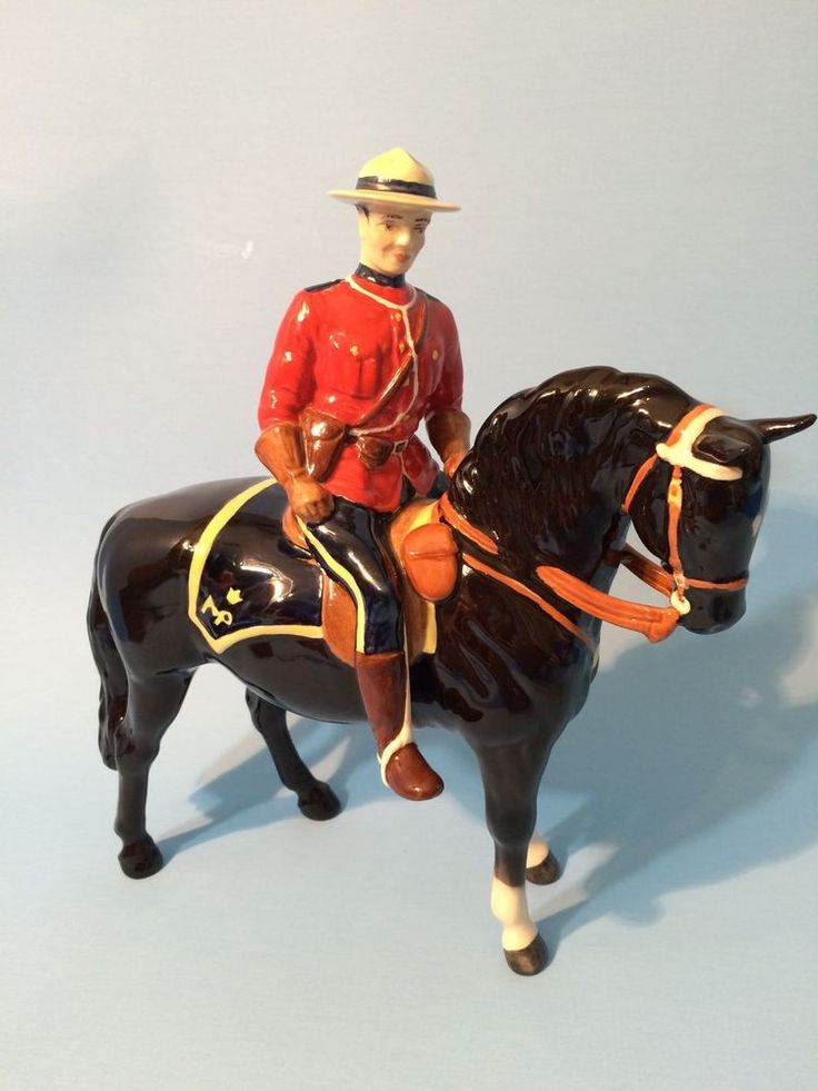 Beswick England Royal Canadian Mounted Police Mountie