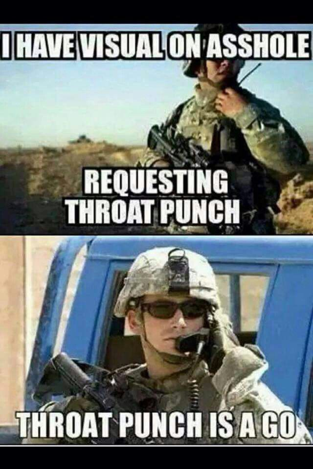 Happy Throat Punch Thursday!