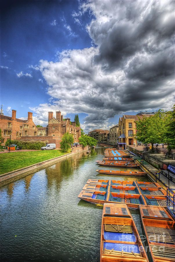 River Cam - Cambridge, England - It was like living in a