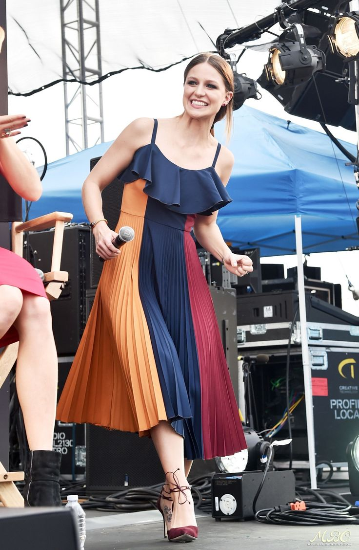 Melissa Benoist at the Entertainment Weekly PopFest, Los Angeles (29 October, 2016)