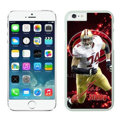 http://www.xjersey.com/san-francisco-49ers-iphone-6-cases-white5.html SAN FRANCISCO 49ERS IPHONE 6 CASES WHITE5 Only $21.00 , Free Shipping!