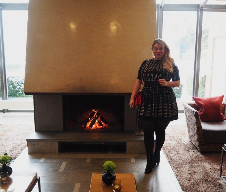 Wie ich es im Hotel Esplanade Resort & Spa Resort Bad Saarow fand? Kamin, Plus size Look.