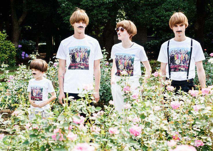 The Beatles Lookbook – Design Tshirts Store graniph
