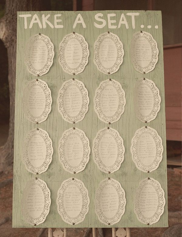 doily seating chart
