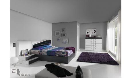 Dormitorio con canapé abatible 09 Electra