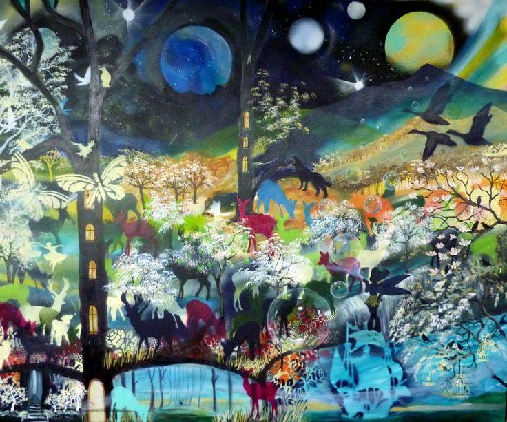 Se Maleriet Livet er et eventyr i galleriet på MyArtSpace.dk
