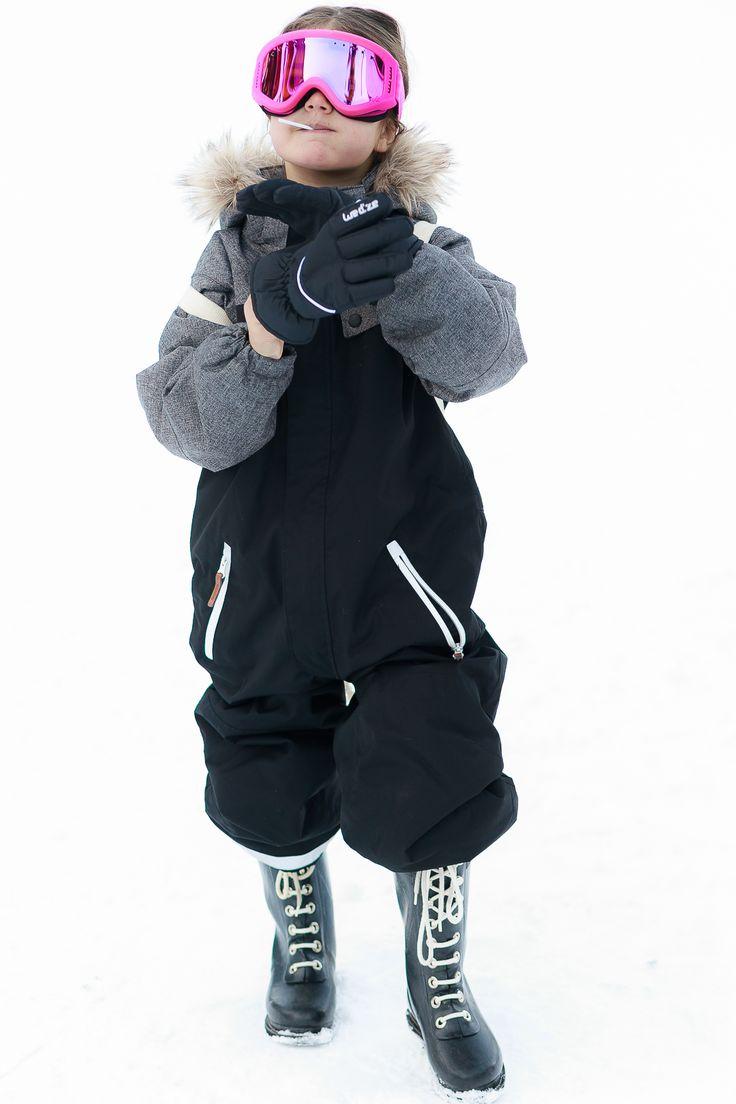 Kids Ski Style by Miss Kaira