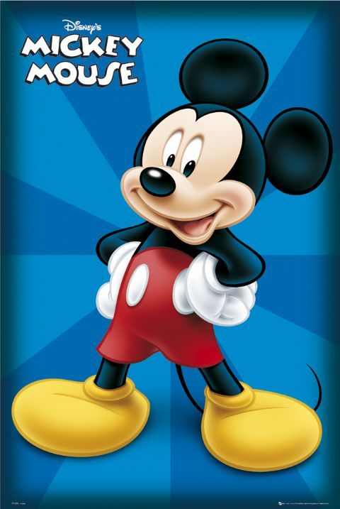 disney posters | Mickey Mouse Poster, Classic Mickey Mouse