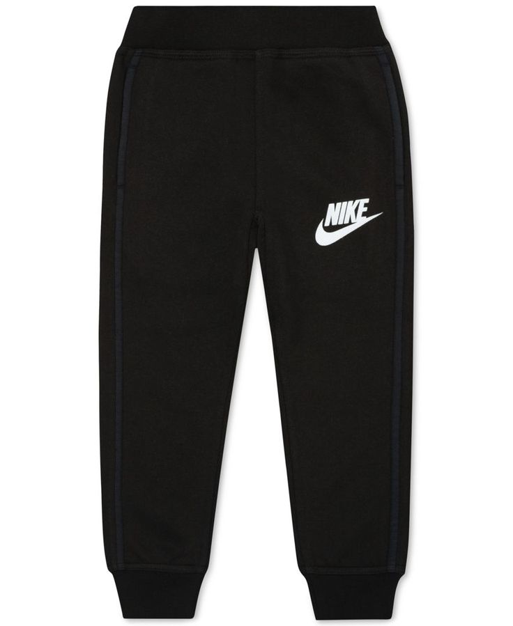 Nike Little Boys' Ribbed-Cuff Jogger Sweatpants