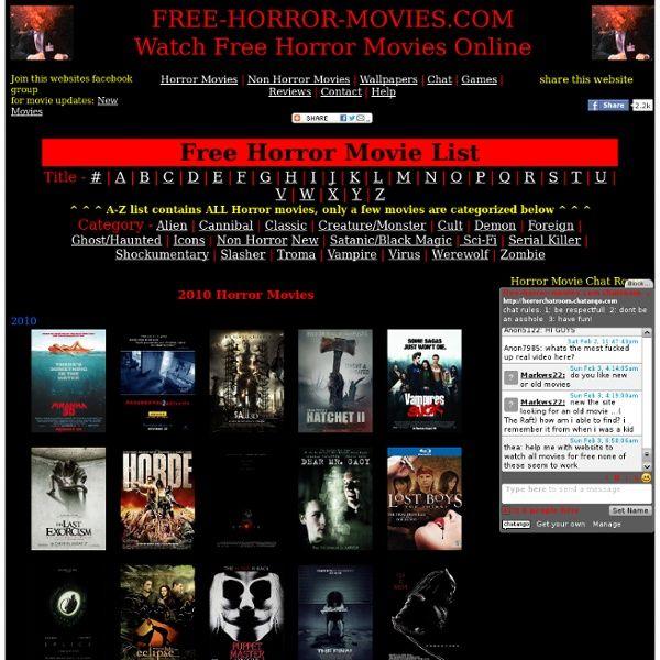Watch Free Horror Movies Online.