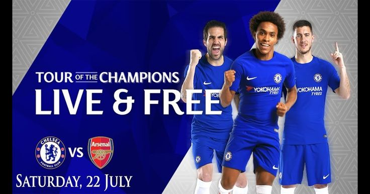 K.O 18.40 Arsenal VS Chelsea live streaming friendly match via Mobile Android IOS Iphone and PC Free HD SD http://ift.tt/2txL5EY EPL Favorite Match