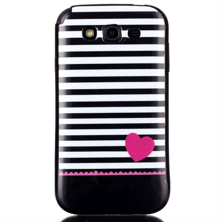 Preto estilo caso capa para Samsung Galaxy i9082 Duos GT i9062 grande Neo Plus i9060i casos(China (Mainland))