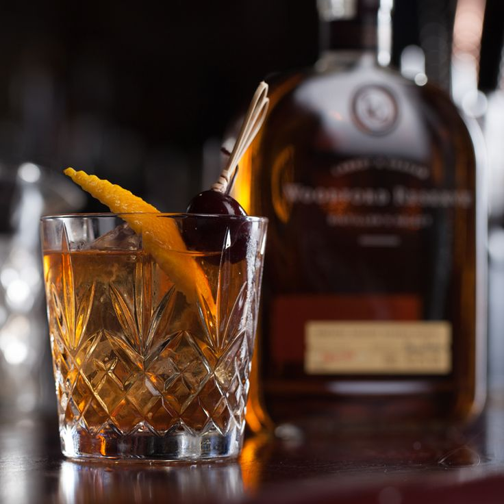 Woodford Reserve Old Fashioned~~Probably my favorite cocktail IF made well!~~