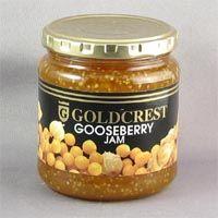Goldcrest Gooseberry Jam 340g (BEST BY OCTOBER, 2015)