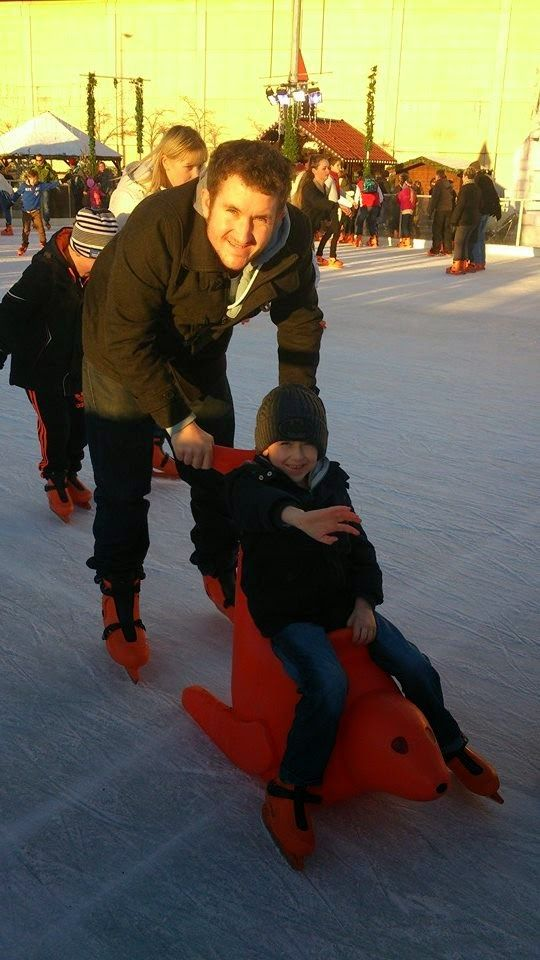 Owl Crazy Mummy - Our journey through parenthood  Ice skating is a must at christmas! Check out the funky orange seals for the younger children to ride on!