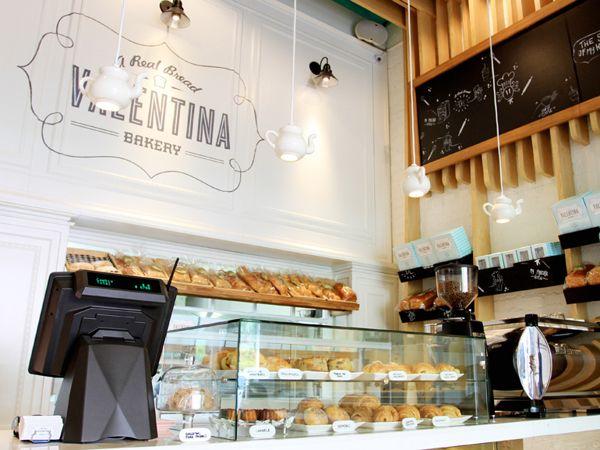 Valentina Bakery / Interior design by Masif , via Behance