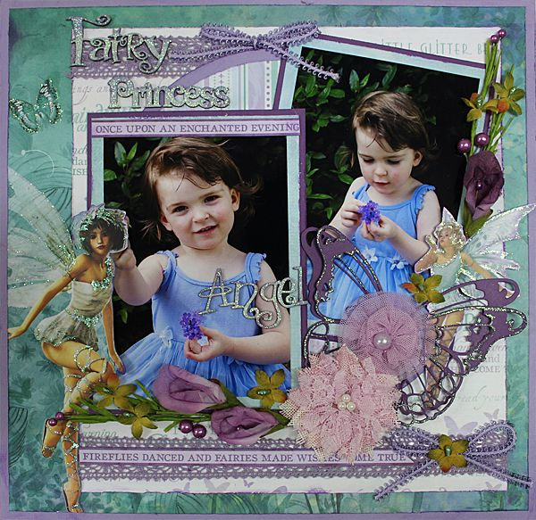 Fairy Princess - single page Designed by Carol Barron