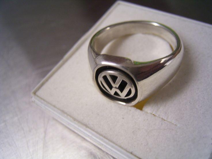Gorgeous german Volkswagen logo ring