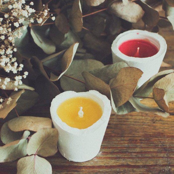 18 id es pour faire une bougie soi m me id es pour la maison pinterest bougies photophore. Black Bedroom Furniture Sets. Home Design Ideas