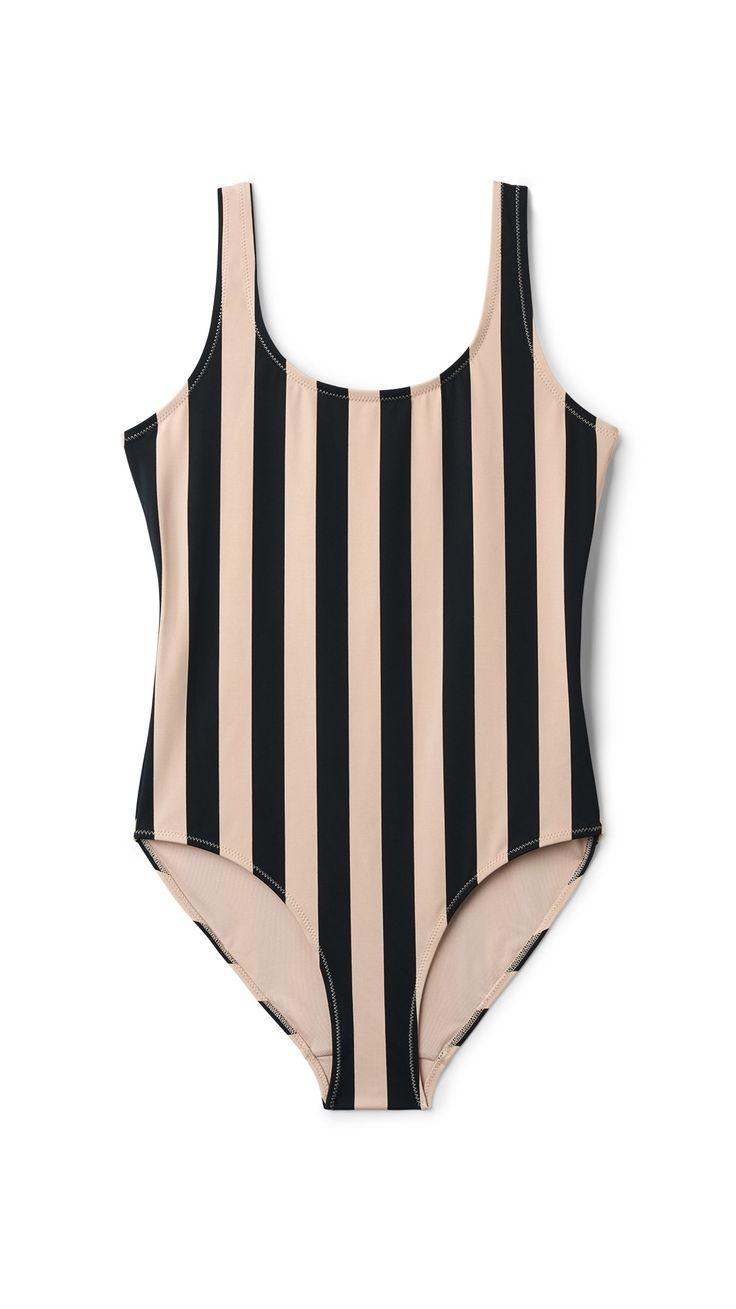 Day Striped Swimsuit