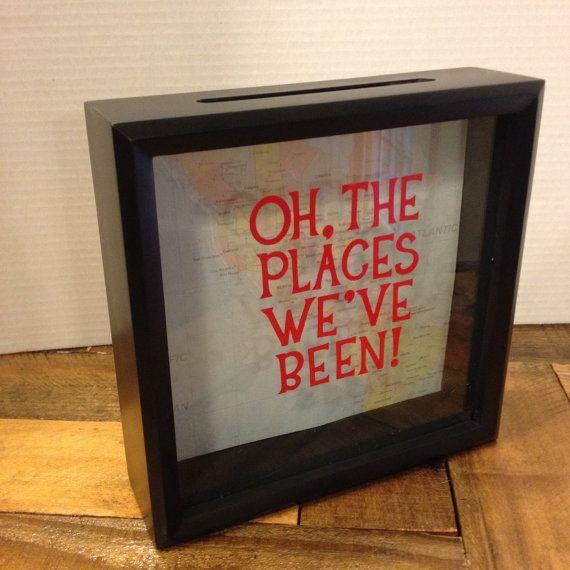 Graduation gift Ticket Stub box 8x8 Shadow by CelebratingTheMoment