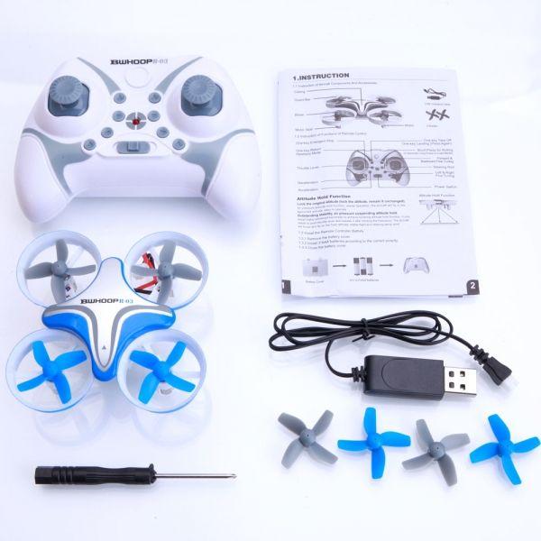 BoldClash BWHOOP B-03 Mantenimiento Altitud 716 Motor EDF RC Quadcopter Cuadricóptero Control Remoto 260mAh 3.7V Azul #winter #invierno #christmas #navidad #feliznavidad #blackfriday #blackfridaydeals #cybermonday #oferta #chollo #regalo #gift #wishlist #giftidea #tmart #Tmart #quadcopter #cuadricóptero #dron #drone #volar #juguete #controlremoto #kids #rctoy #toy #azul #blue #boldclash
