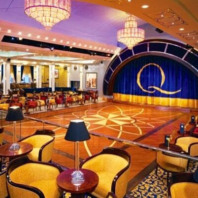 Ballroom on the Cunard cruise ship Queen Mary 2. Image courtesy of WLCL.