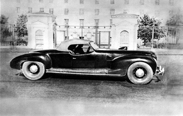 Weird Vintage Cars: ZIS 101 A (1940)