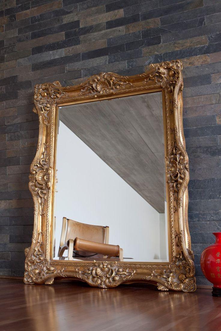Modelo: PARIS Color: Dorado Medidas: 156 x 126 x 9 cms Acabado: Dorado antiguo, pan de oro Marco: Resina, MDF Espejo: Grosor 5mm, bisel 20 mm Peso: 26 kg. http://bit.ly/1NiDWfW
