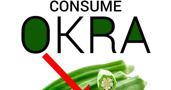 Okra, Health benefits of okra and Benefits of okra on Pinterest