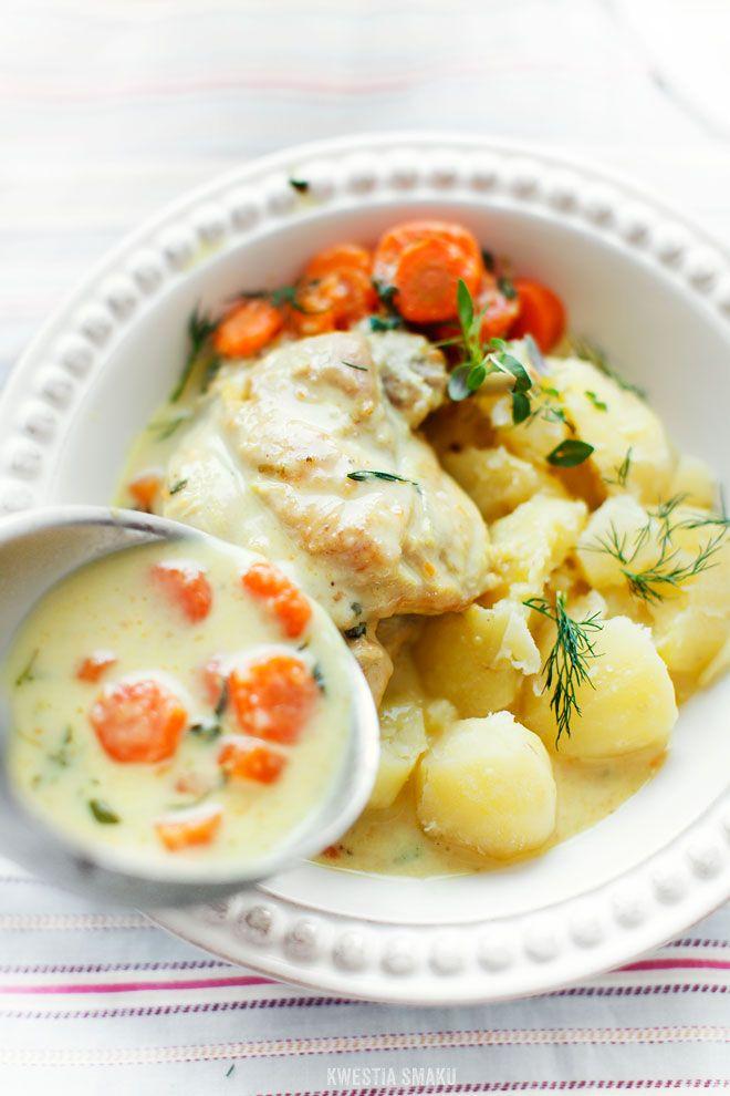 Królik w śmietaniePolskie Przepisy, Recipe Galore, Królik Przepis, Wanna Cooking, Polish Recipe, Przepisy Polish, Polish Food