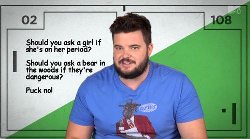 MTV2 Guy Code. My favorite show!!!!!