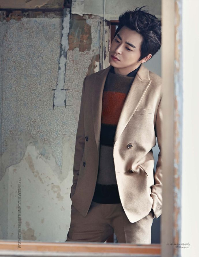 Jo Jung Seok - Elle Magazine October Issue '14