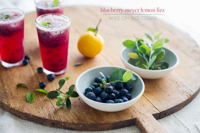Perfect for hot summer days: blueberry lemonade fizz.