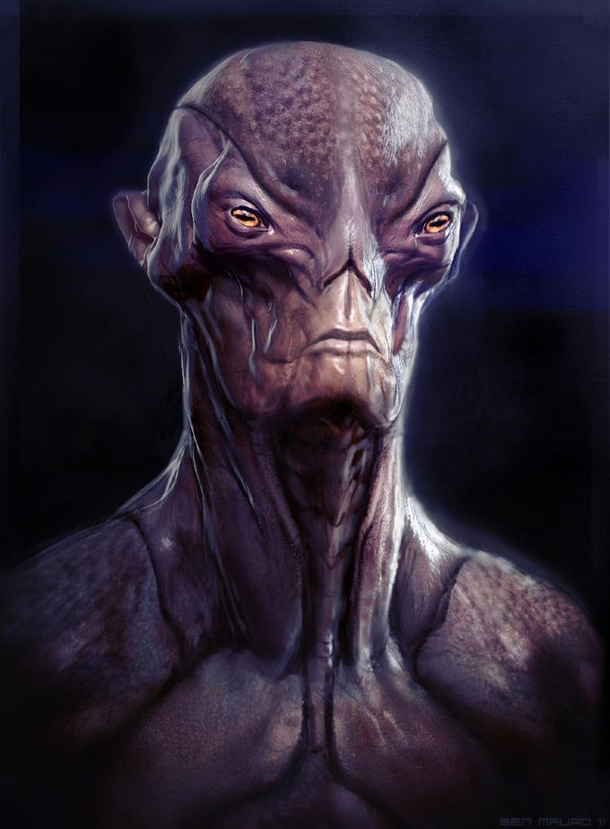 Concept Art World » Creature and Character Concept Art by Ben Mauro